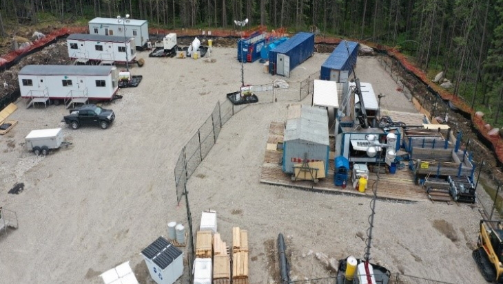Canada completes second borehole for used fuel management