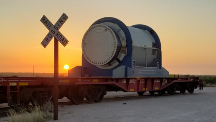 Orano delivers transport cask for first US deployment