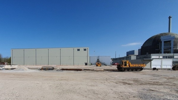 Interim waste storage facility completed at Unterweser