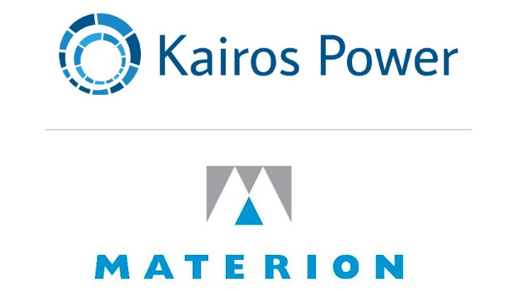 Materion to supply coolant for Kairos molten salt reactor