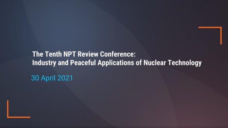 NPT signatories must enable a renewed vision for nuclear, says Bilbao y León