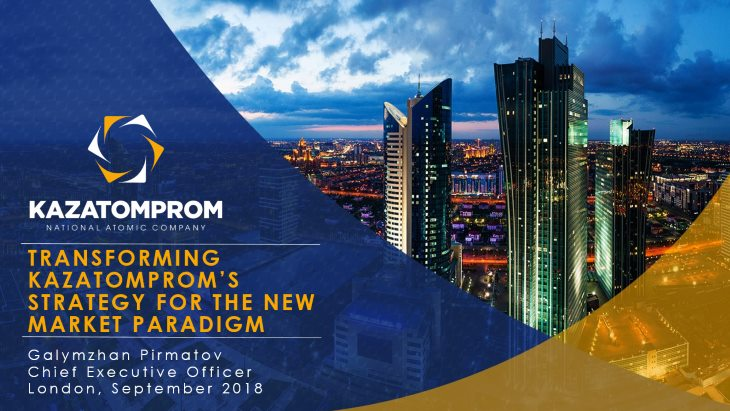 Challenges and changes at Kazatomprom