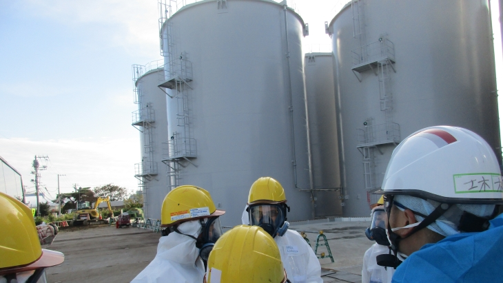 Tepco completes Fukushima water storage upgrade
