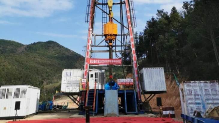 China drills deep in search for uranium