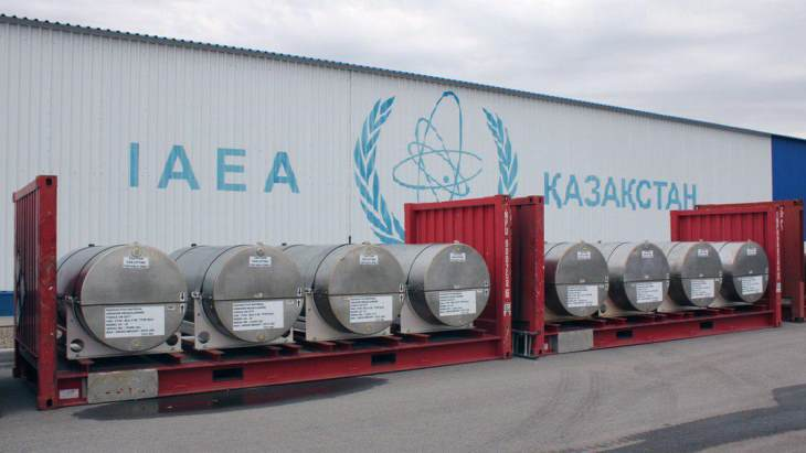 IAEA fuel bank receives first delivery of uranium