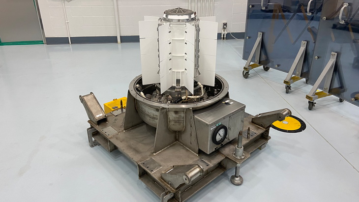Nuclear power system delivered for Mars rover launch