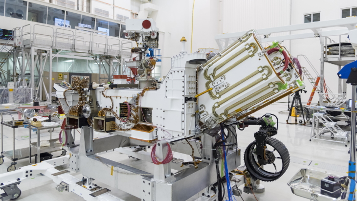 Mars 2020 rover gets radioisotope fuel