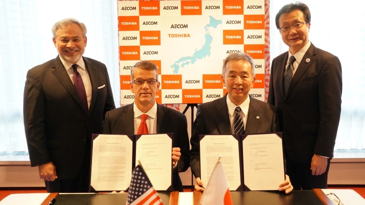 Toshiba, AECOM expand decommissioning collaboration