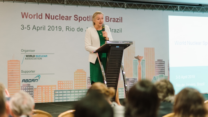 Brazil meeting shines spotlight on nuclear benefits