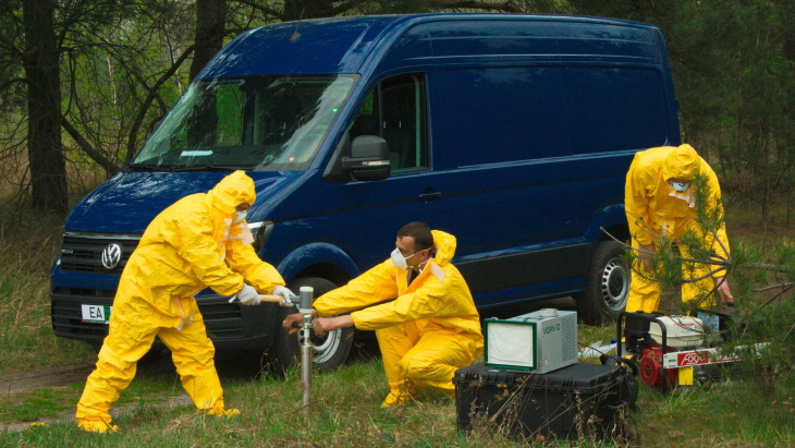 IAEA equips Belarus with mobile radiation monitoring lab