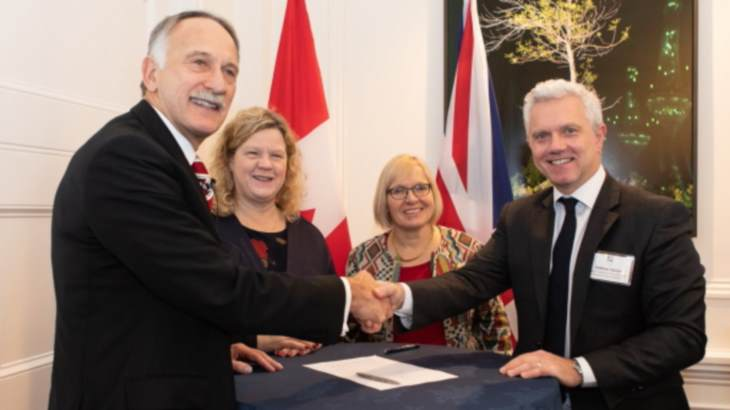 Canadian and UK scientists forge closer ties