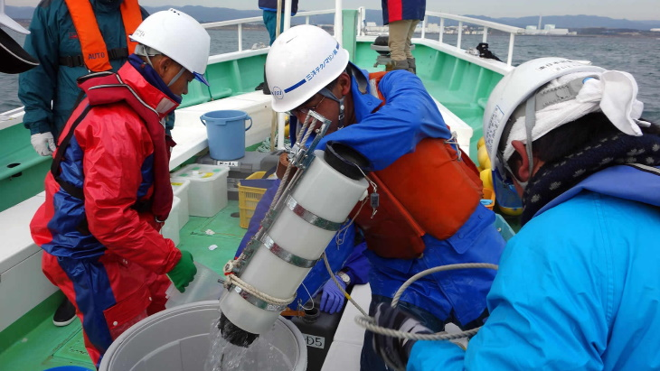 Japanese experts to oversee marine readings for IAEA