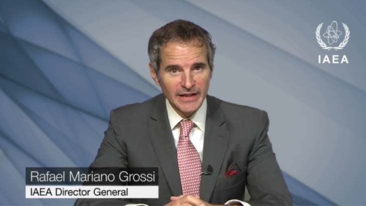 Grossi highlights IAEA's activities for UN General Assembly