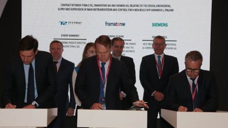 Framatome Siemens Awarded Hanhikivi I C Contract Corporate World Nuclear News