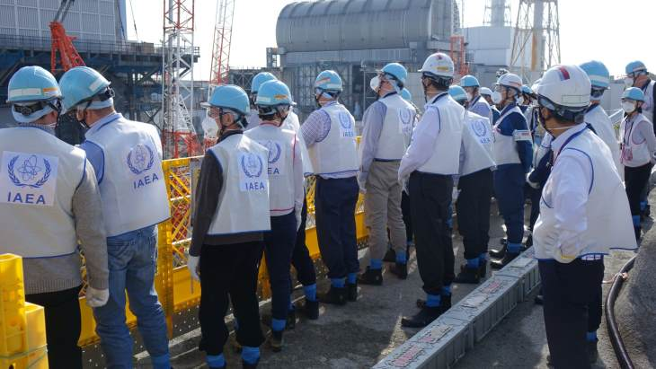 IAEA reviews Fukushima Daiichi clean-up work