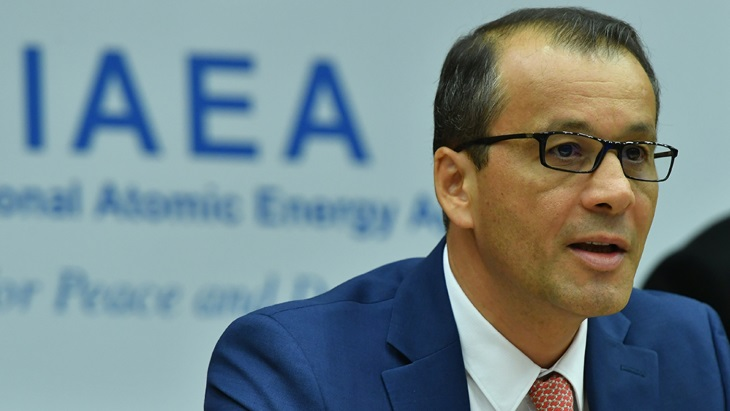 IAEA's Feruta thanks Members States for 'steadfast support'