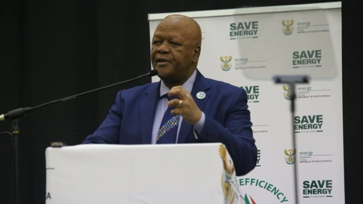 South Africa needs holistic approach to energy, says energy minister