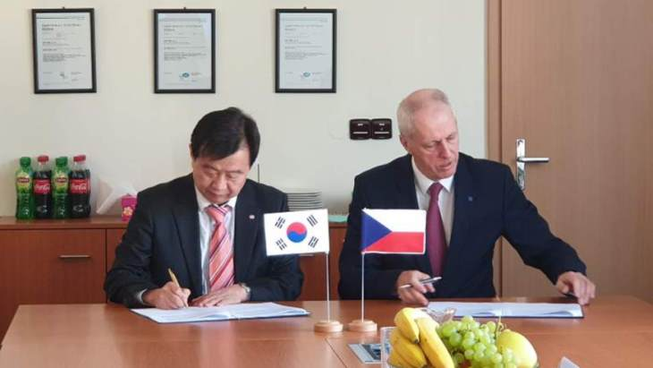Korean, Czech companies strengthen cooperation