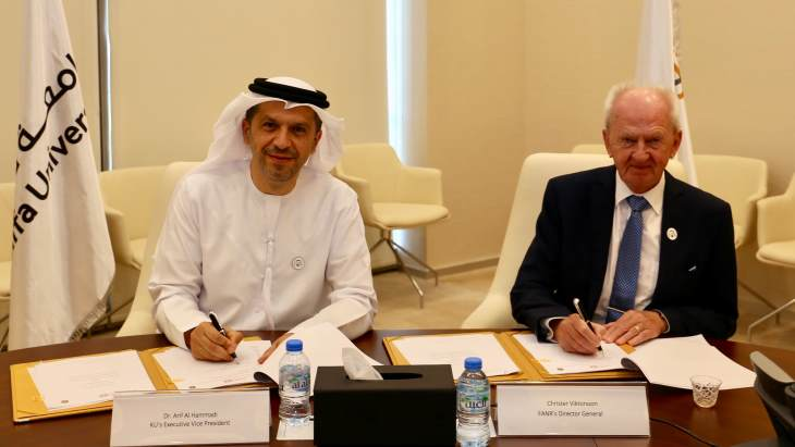 FANR, Khalifa University sign collaboration agreement