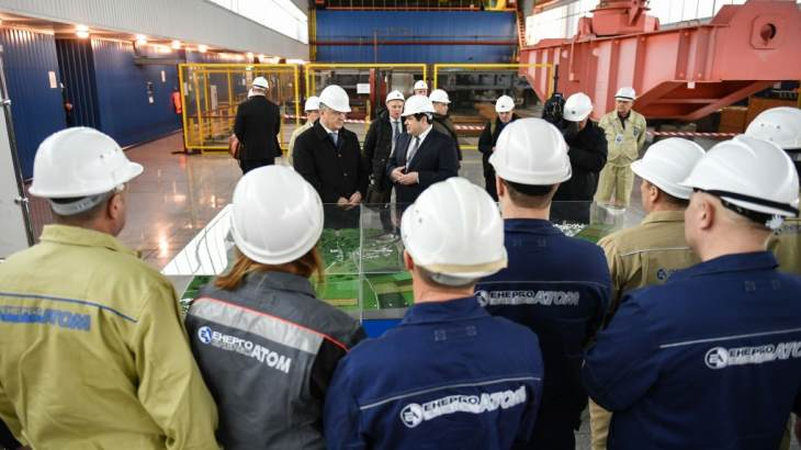 Ukrainian head of state stresses role of nuclear power