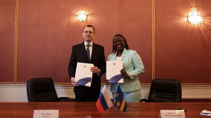 Russia, Rwanda establish nuclear energy ties