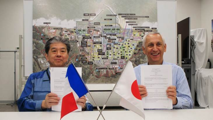 Orano and Tepco cooperate further on decommissioning