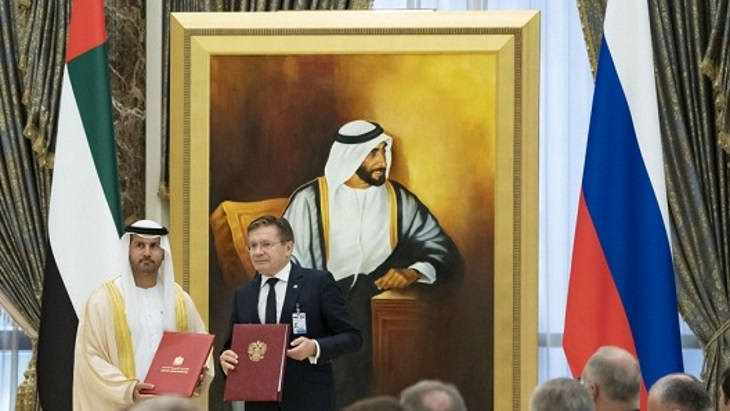 Russia, UAE extend MoU on cooperation
