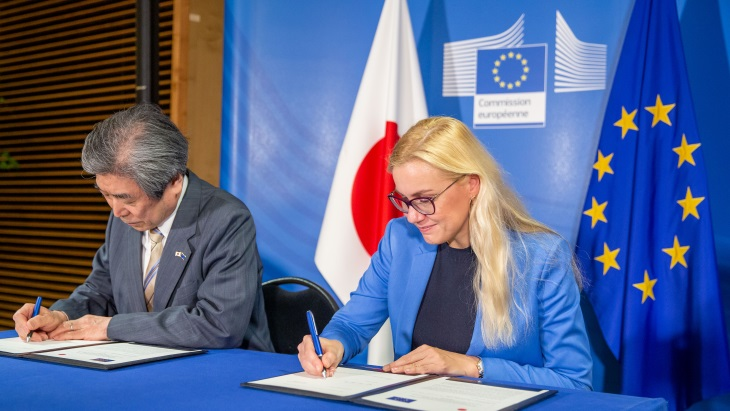 Euratom signs fusion energy declaration with Japan