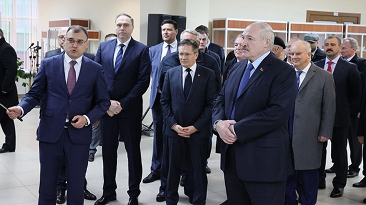 Belarusian President celebrates start-up of new reactor
