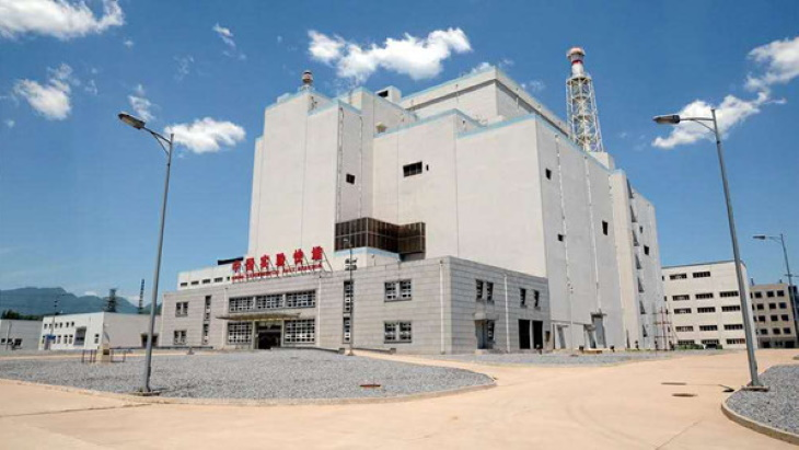 Chinese fast reactor completes trial operating cycle