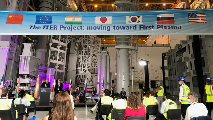 Assembly of ITER tokamak officially under way