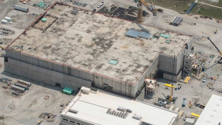 US MOX facility contract terminated