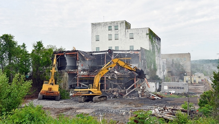Final Oak Ridge gaseous diffusion facilities demolished