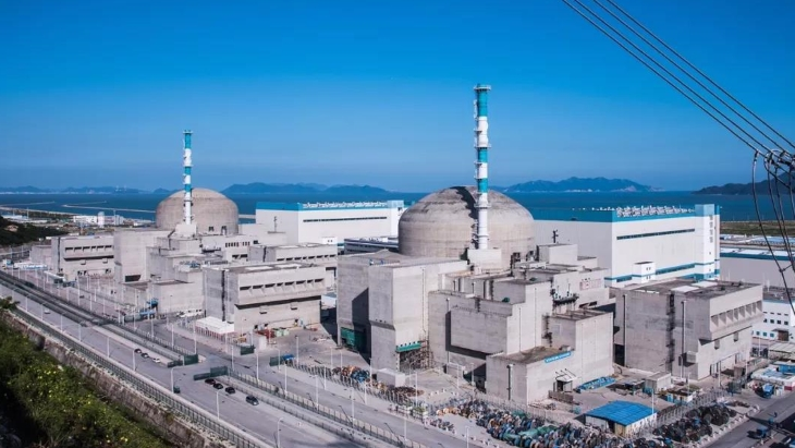 Second Chinese EPR achieves criticality