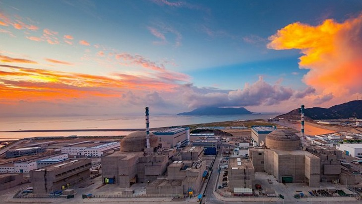 Second EPR at China's Taishan site connected to grid