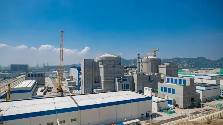 Hot testing completed at sixth Tianwan unit