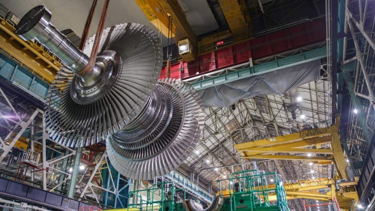 GE Steam Power unveils 'largest last-stage blade ever made'