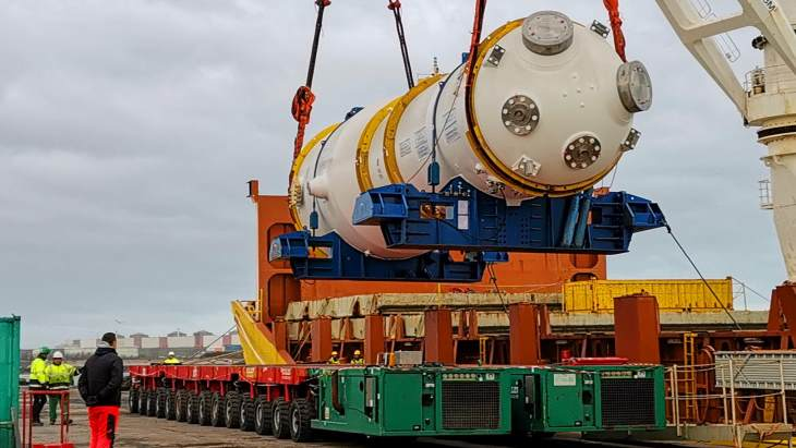 New replacement steam generator for Gravelines 5