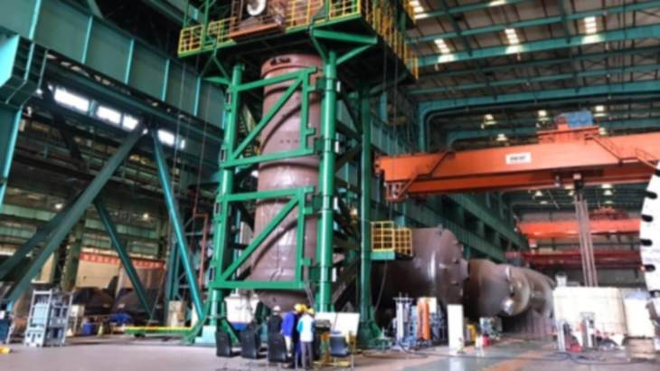 HTR-PM steam generator passes pressure tests