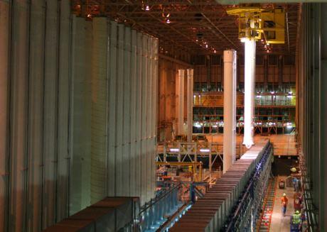 RD&D centrifuge installation (USEC)_460
