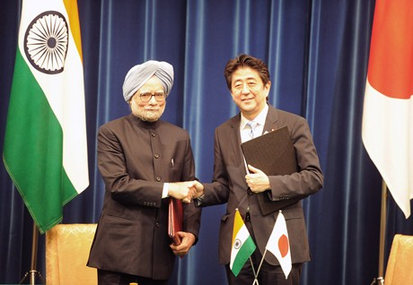 Abe-Singh May 2013 (PM of India)