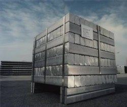 Aluminium ready for shipping (Voerde) 250,211