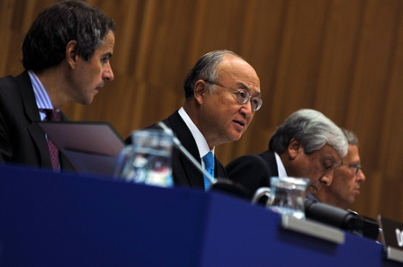 Amano - IAEA board meeting August 2011