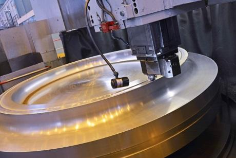 Arabelle steam turbine rotor for HPC - 460 (GE)