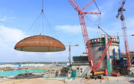 Changjiang 2 dome lifting (CNECC)
