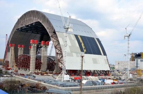 Chernobyl arch movement 460 (ChNPP)