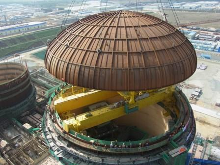 Changjiang 1 dome lifting (CNECC)