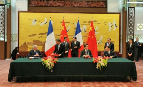 Китайская CGN и французская EDF будут строить АЭС в Британии