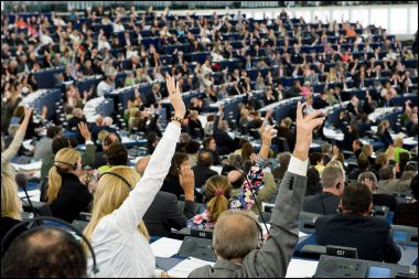 A 2010 vote in the European Parliament's Strasbourg chamber