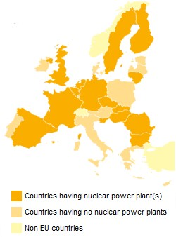 European nuclear countries (2012, ENSREG) 250x338
